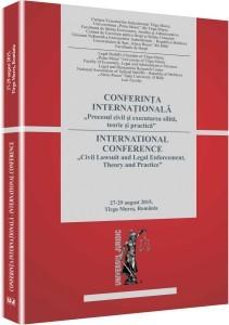 Sandru Pacte societare executare conferinte Procesul civil si executarea silita 2015